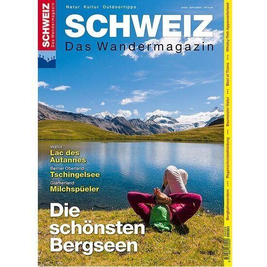 Schweizer Wandermagazin im Abo