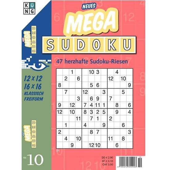Mega Sudoku im Abo