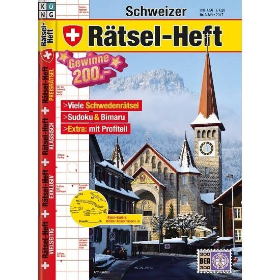 Schweizer Rätsel-Heft im Abo