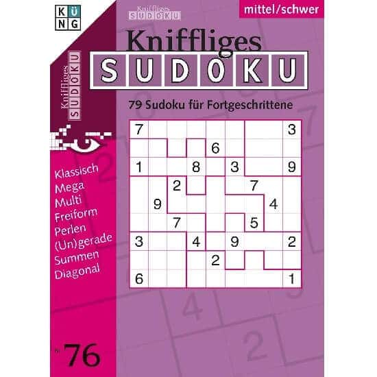 Kniffliges Sudoku im Abo