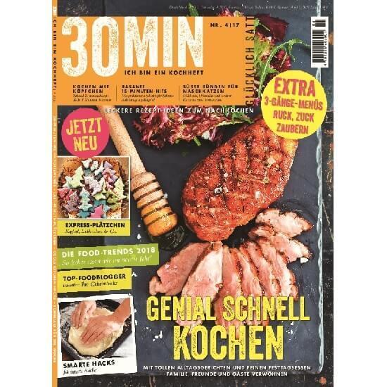 30 Minuten Food Magazin im Abo