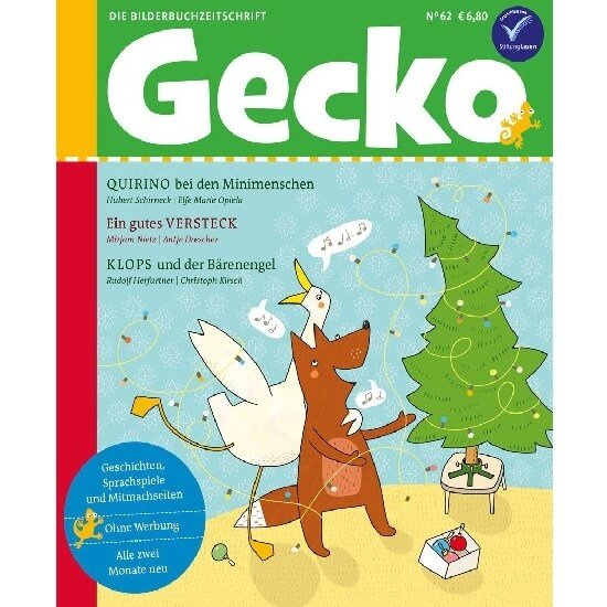 Gecko KInderzeitschrift Abo