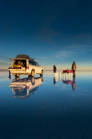 Salar Uyuni, Bolivien