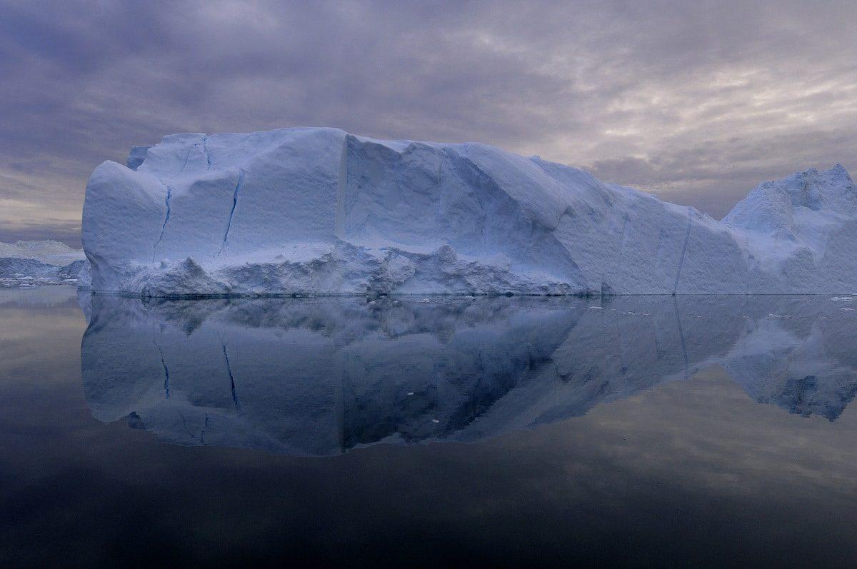 Imposante Abbruchfronten der grönländischen Gletscher