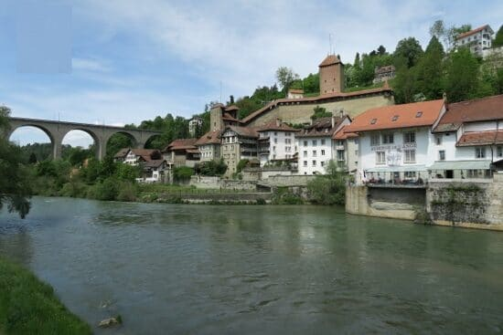 Fribourg Ste. Apolline Brücke