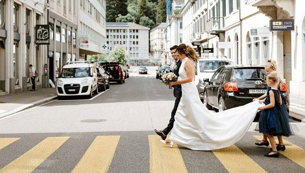 Ciancas und Andreas Hochzeits Parcour