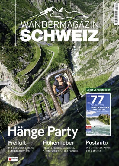 Schweizer Wandermagazin Abo